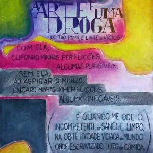 Título: A arte é uma droga